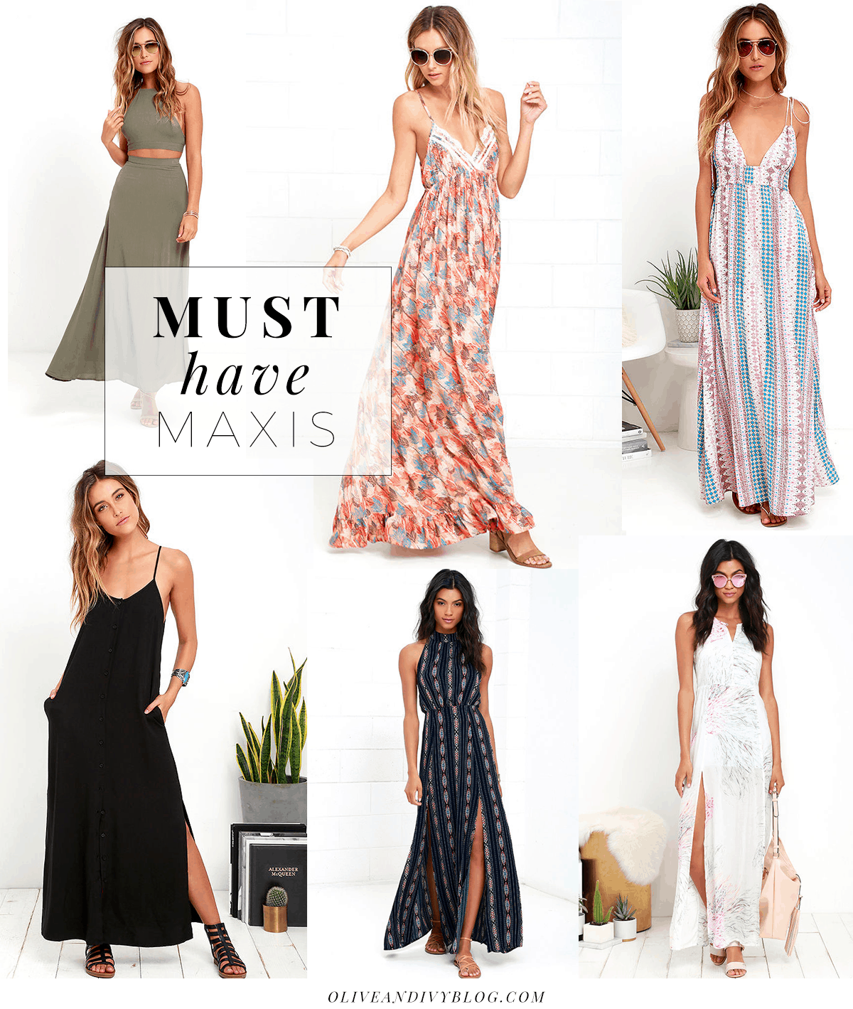 The Best Maxi Dress | Olive & Ivy