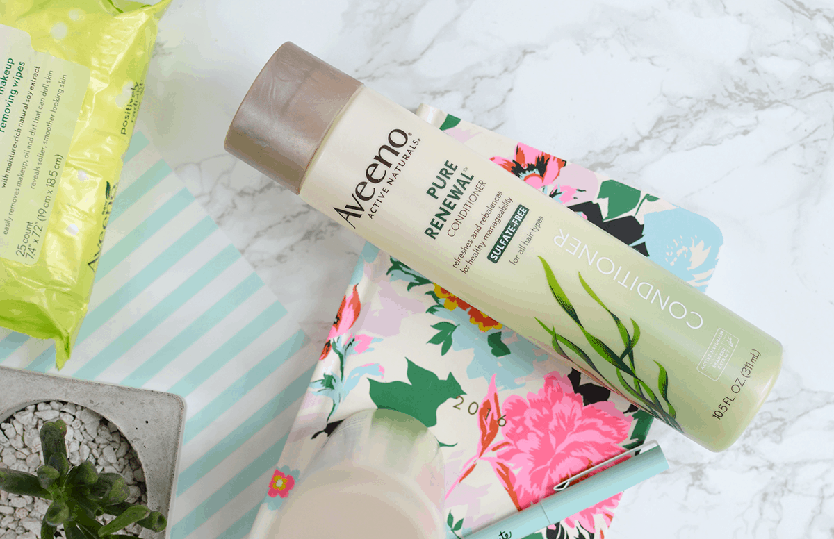 Aveeno Pure Renewal Shampoo & Conditioner