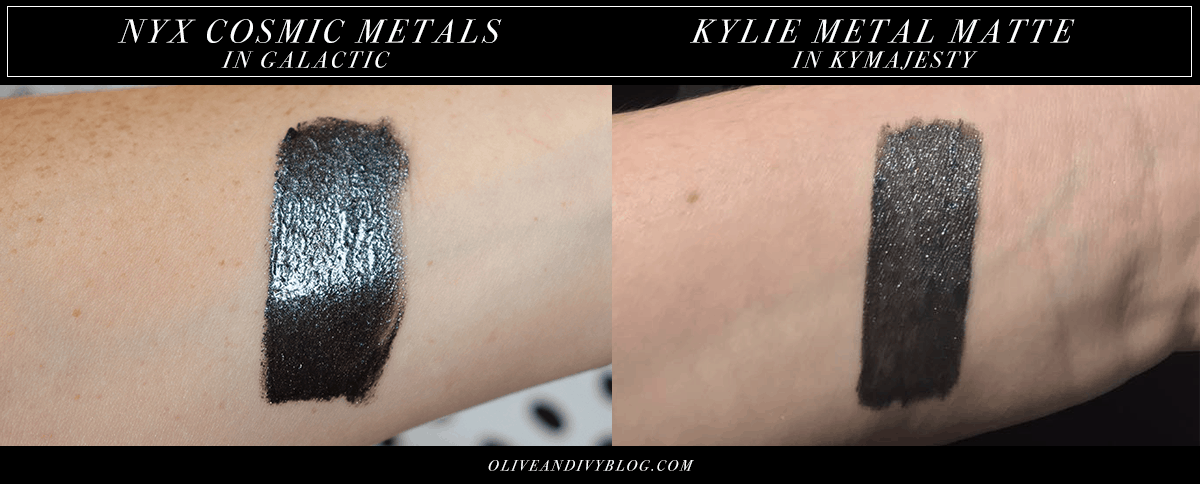 DUPE ALERT: NYX Cosmic Metals in Galactic is a dupe for Kymajesty!   oliveandivyblog.com