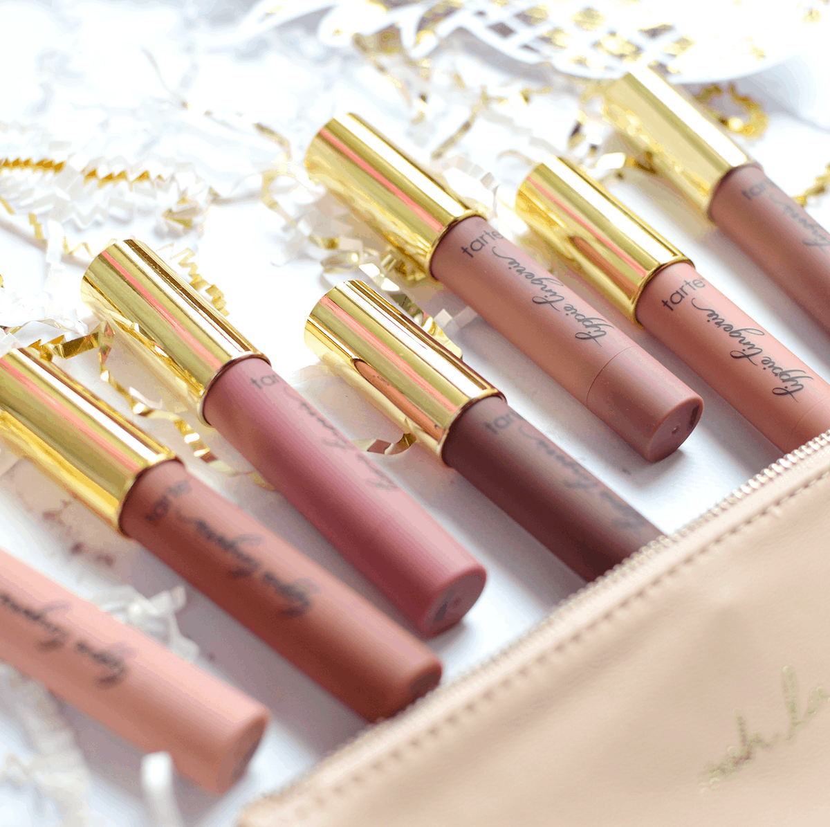 Tarte Lippie Lingerie Matte Lip Tints (review & swatches) | oliveandivyblog.com