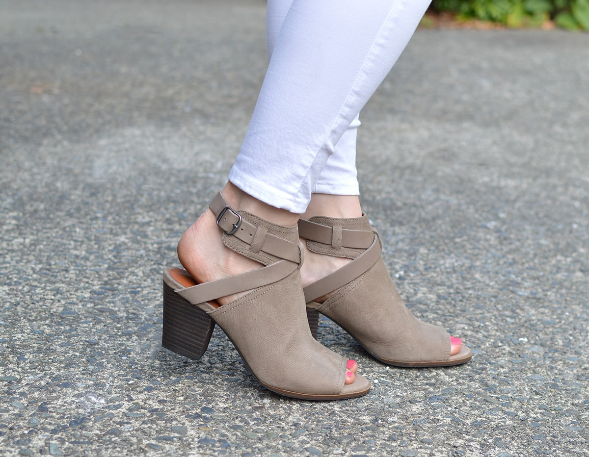 Lucky Brand Harum booties from Zappos | oliveandivyblog.com