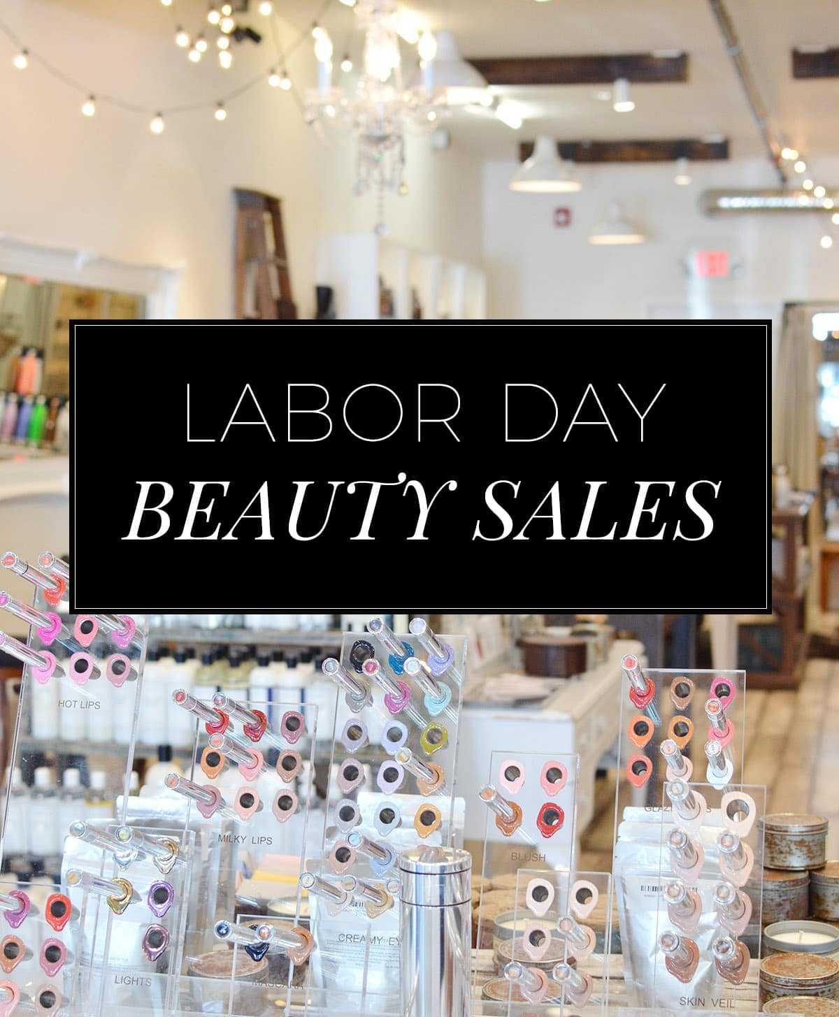 The BEST Labor Day beauty sales for 2016! | oliveandivyblog.com