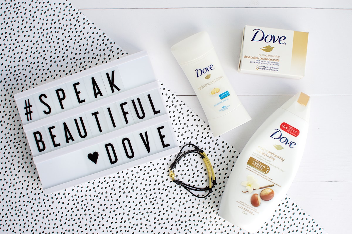Dove #SpeakBeautiful Campaign | Olive & Ivy