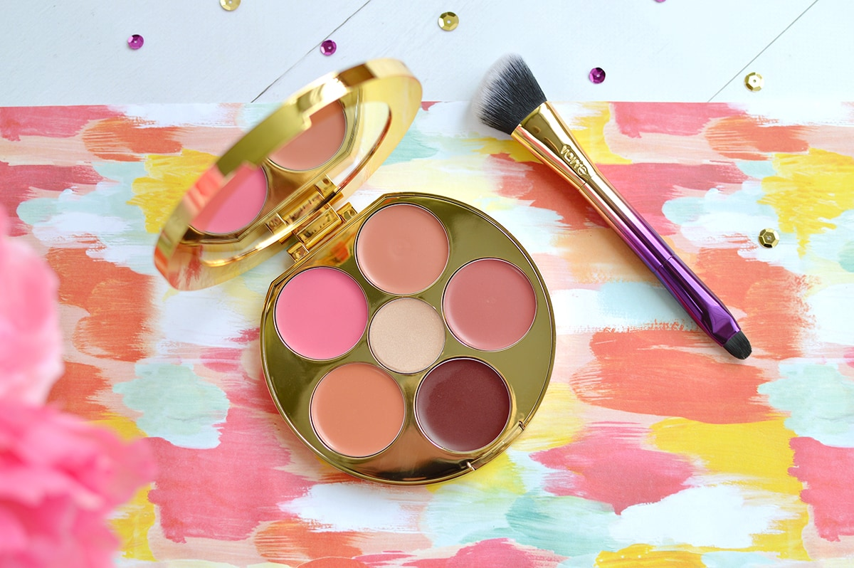 Tarte Kiss & Blush Cream Cheek & Lip Palette review and swatches | oliveandivyblog.com