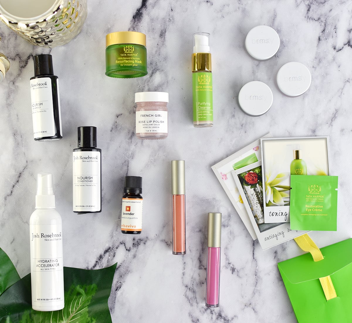 Green beauty haul from Green & Pure | oliveandivyblog.com