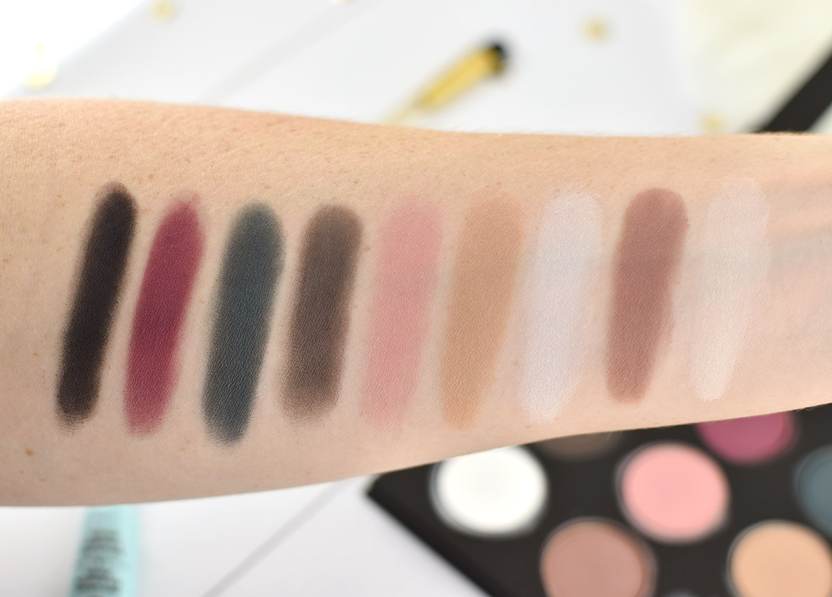 MAKE UP FOR EVER Artist Palette Volume 4 swatches | oliveandivyblog.com