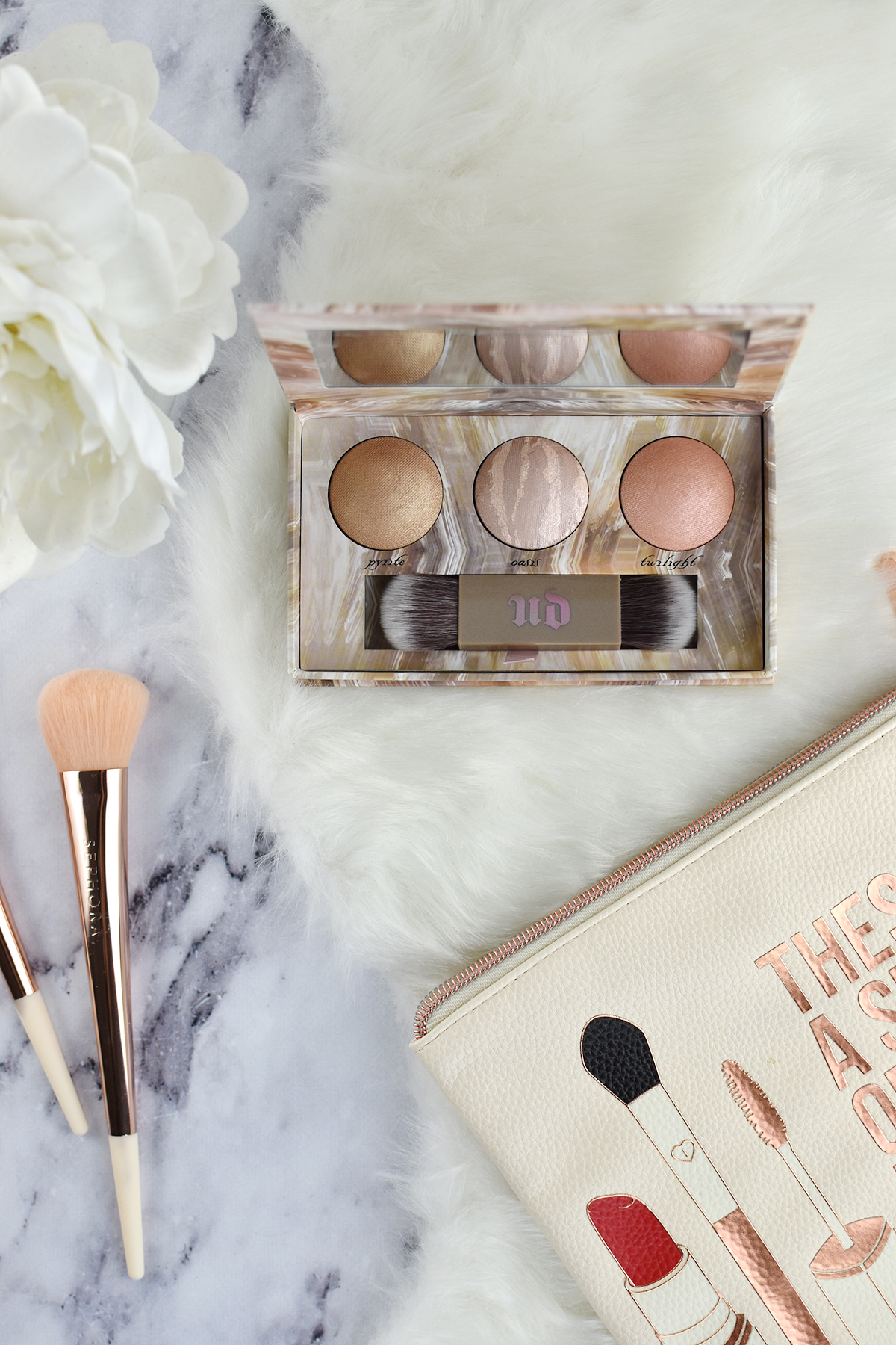 Urban Decay Naked Illuminated Trio review and swatches | oliveandivyblog.com