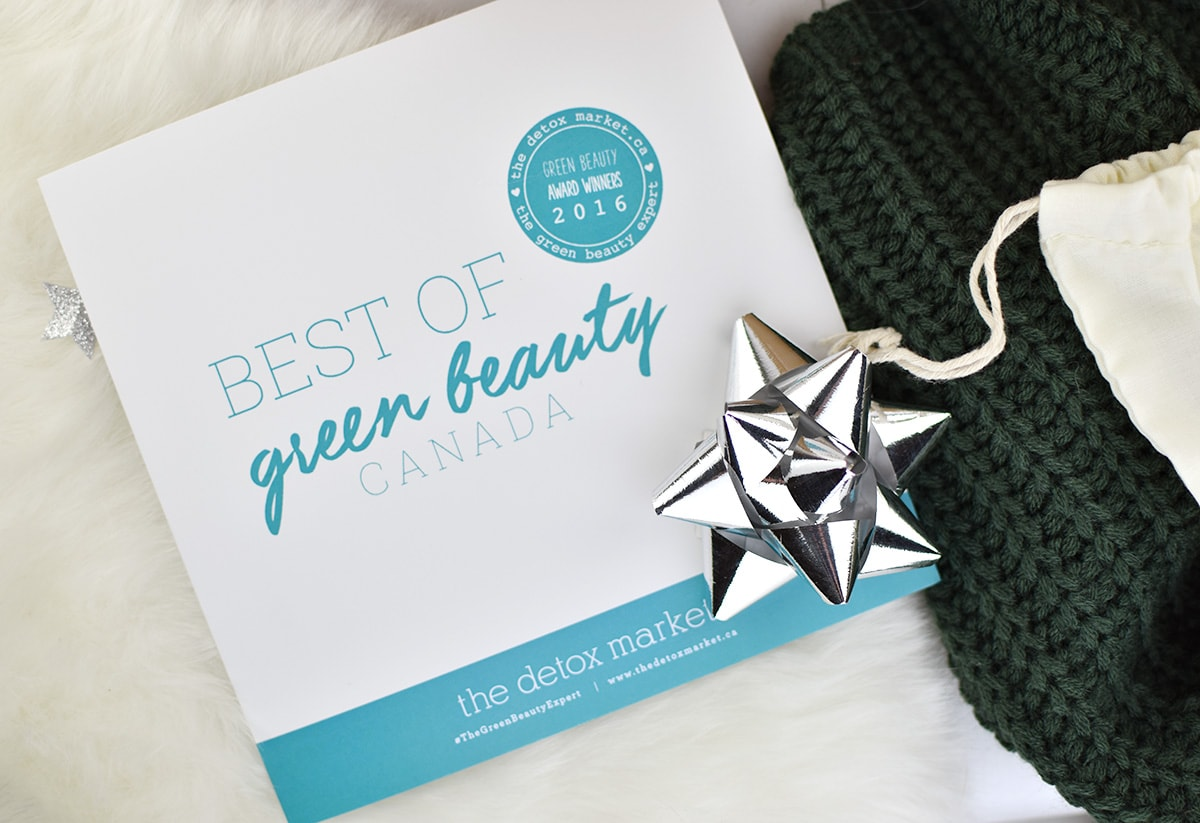 The Detox Market Best of Green Beauty Canada Box 2016 | oliveandivyblog.com