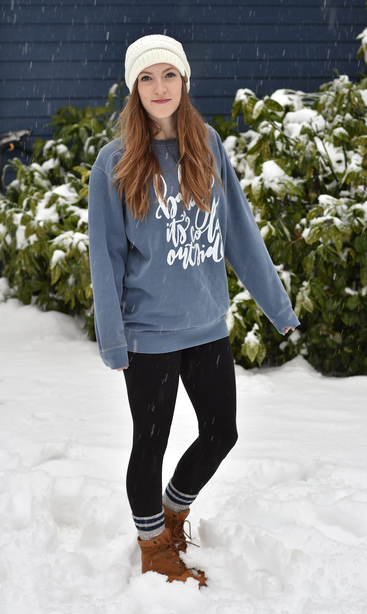 "How adorable is this ""Baby It's Cold Outside"" sweater from Frills & Trimmings Boutique? Love!"