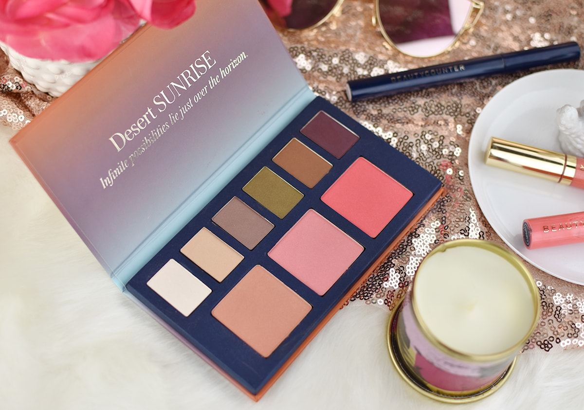 Beautycounter Desert Sunrise Collection (review and swatches) | oliveandivyblog.com