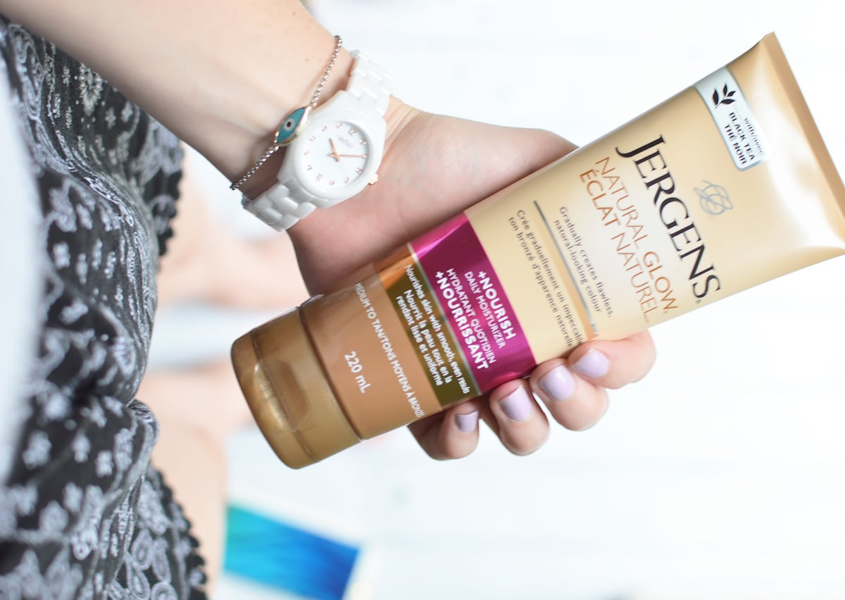 Natural Glow +Firming Daily Moisturizer by jergens #4