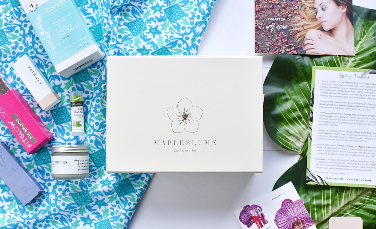 Mapleblume April 2017 review | oliveandivyblog.com