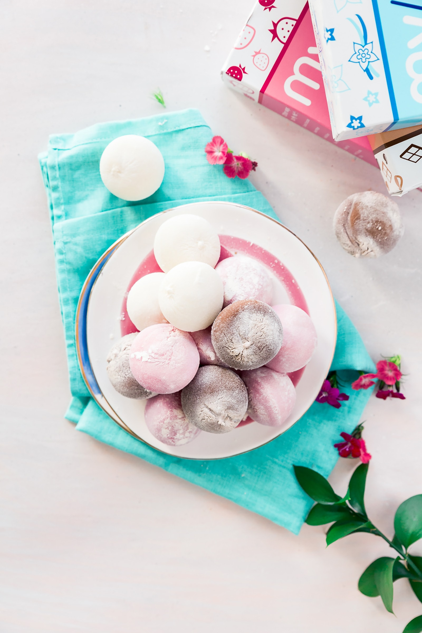 Bring In Spring With My/Mo Mochi Ice Cream