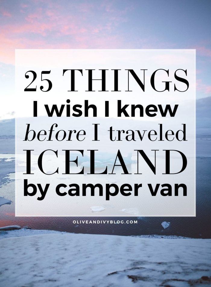 Iceland Camper Van Tips, Tricks & Travel Hacks