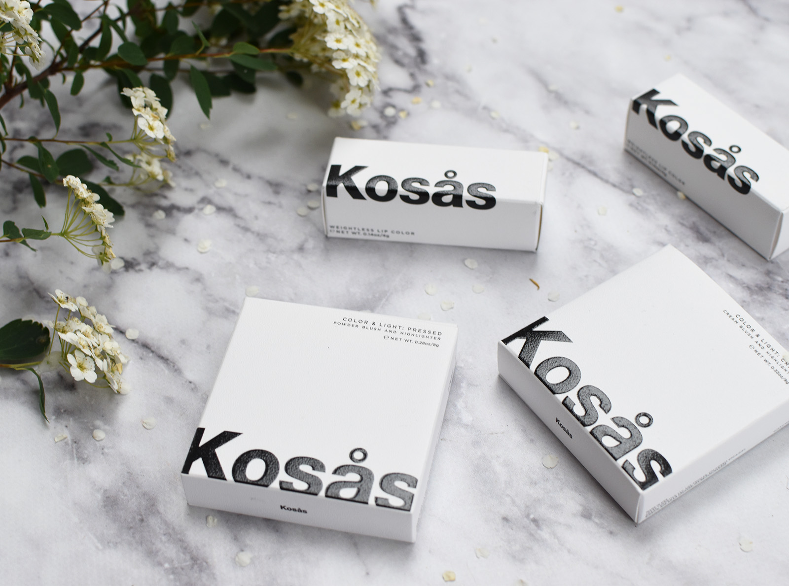 Kosas Alter Ego Modern Romance Set Review Swatches