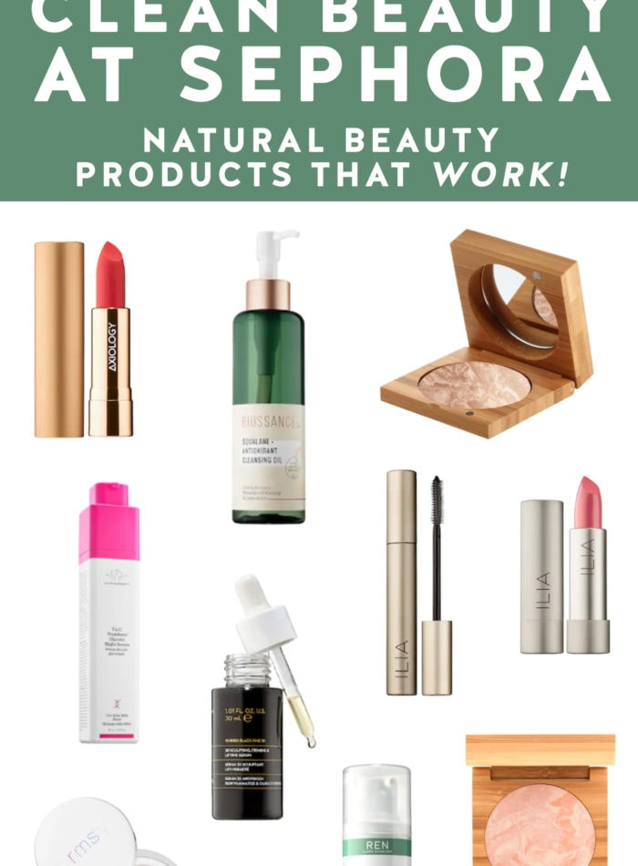 Best of Clean Beauty at Sephora