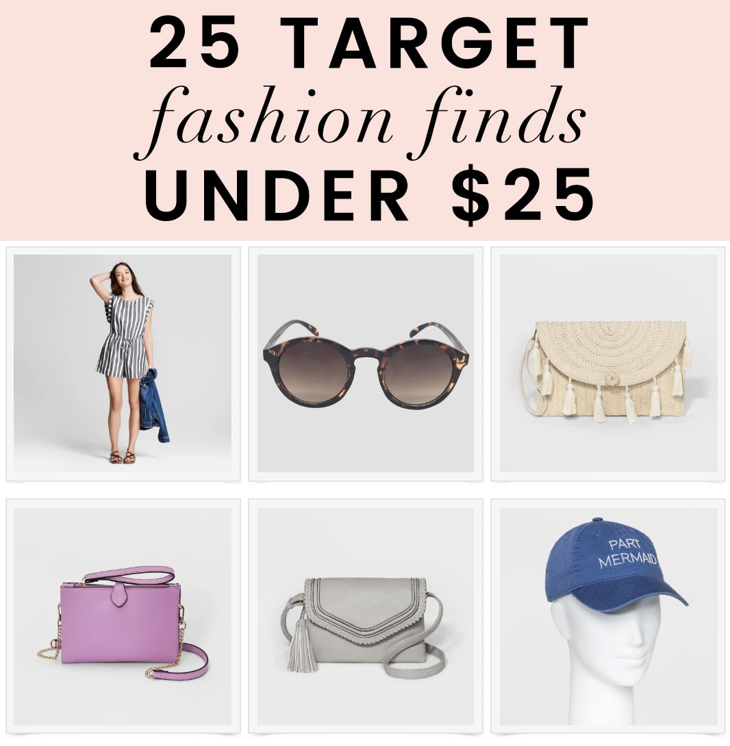 25 Target Fashion Finds Under $25 | oliveandivyblog.com