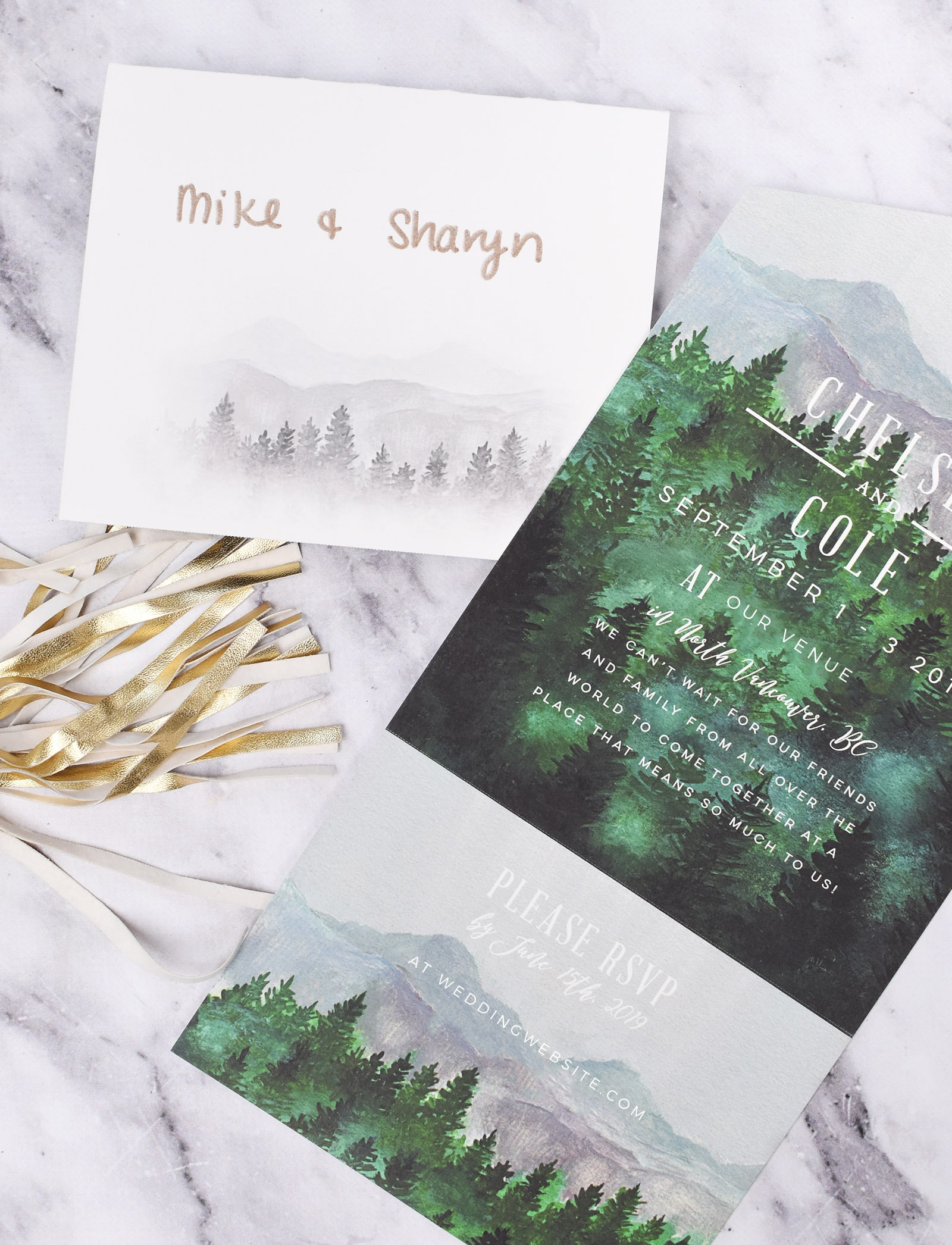 Outdoor Wedding Invitations From Minted Olive Ivy