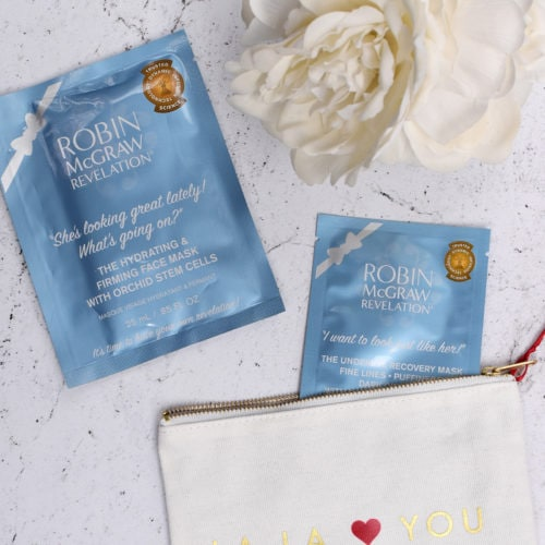 Robin McGraw Revelation sheet masks review | oliveandivyblog.com