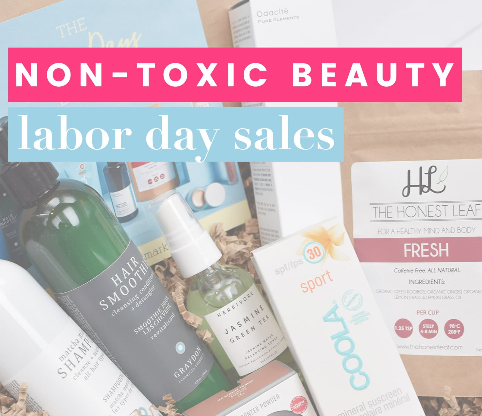 Green beauty labor day sales 2018