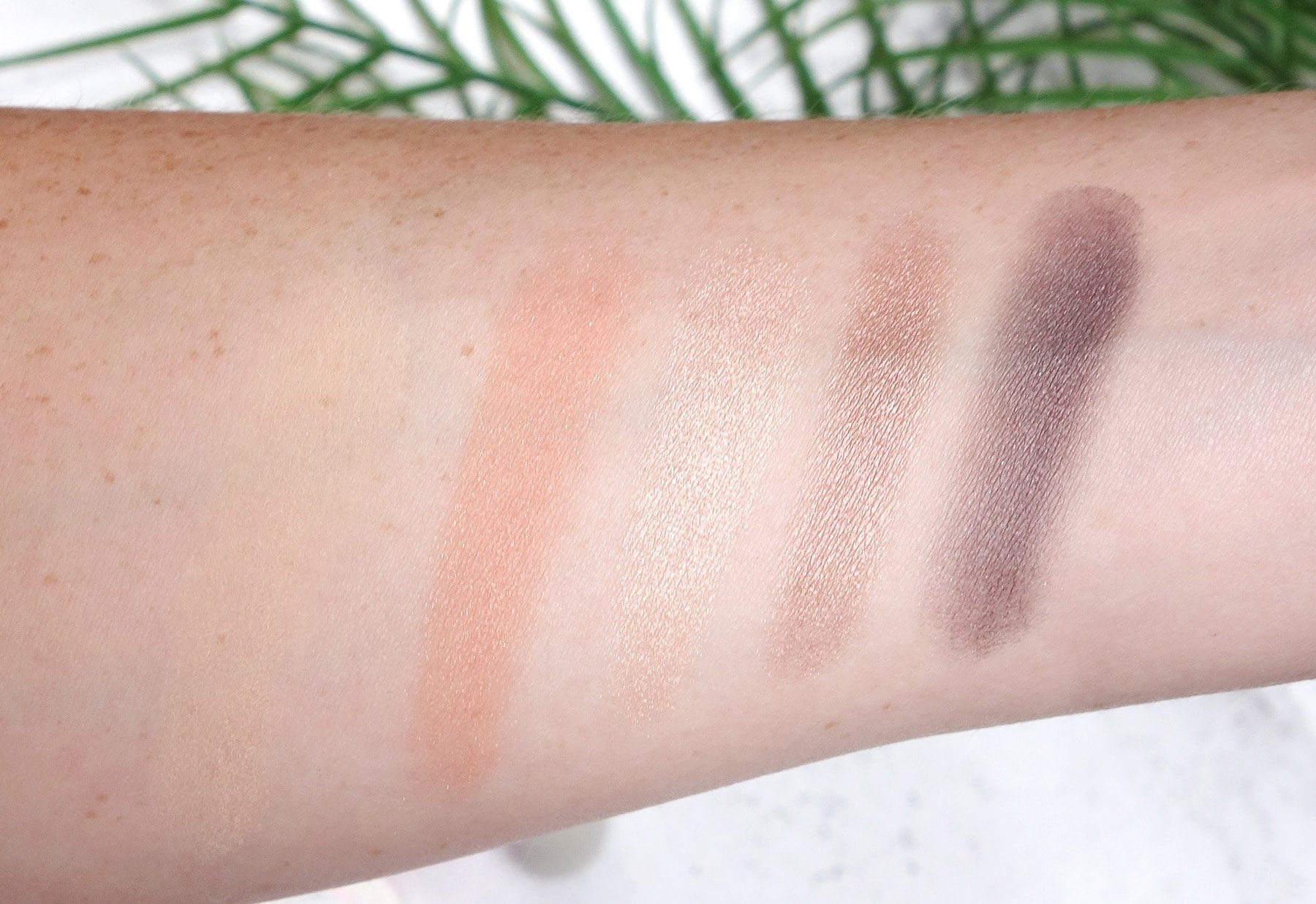 Jane Iredale Snap Happy Makeup Kit swatches