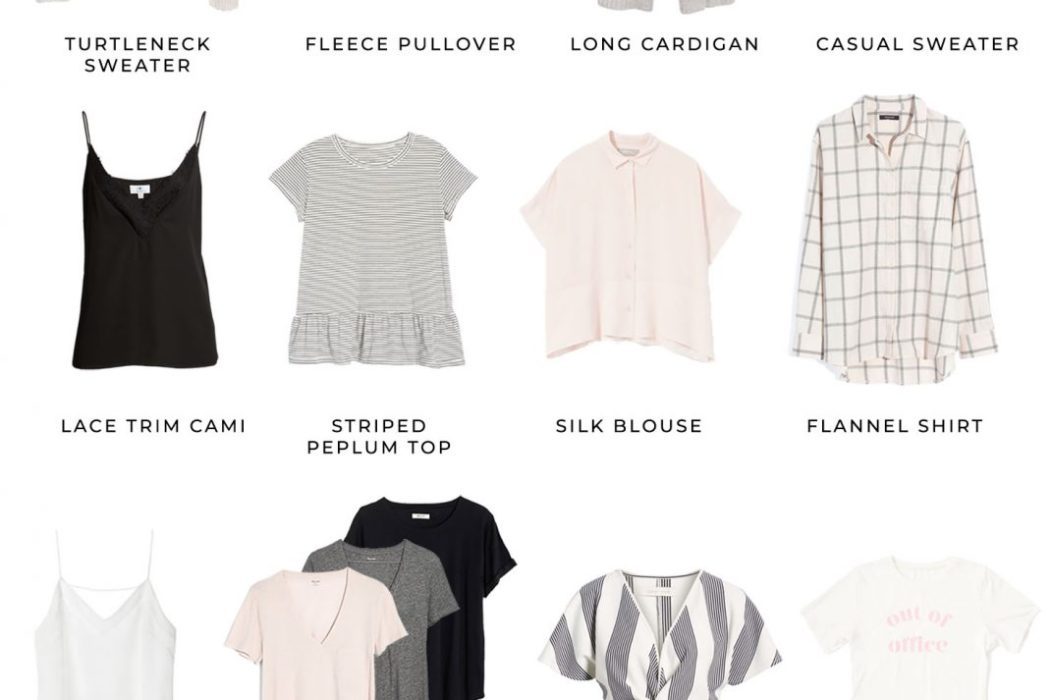 Casual Chic Spring Capsule Wardrobe