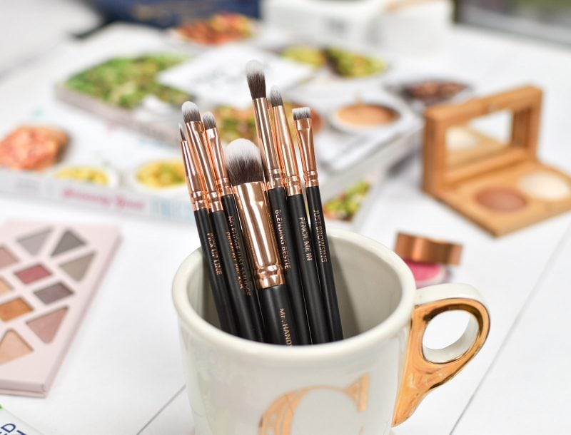 MOTD Cosmetics eyeshadow brushes review