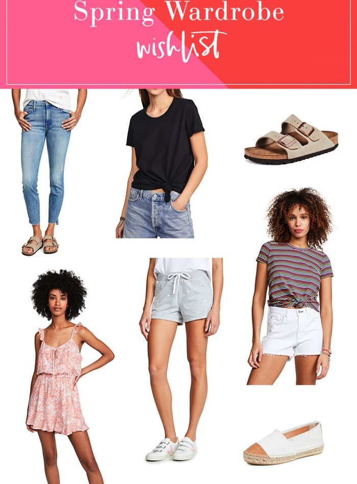 Spring Wardrobe Wishlist | Shopbop Sale + Discount Code