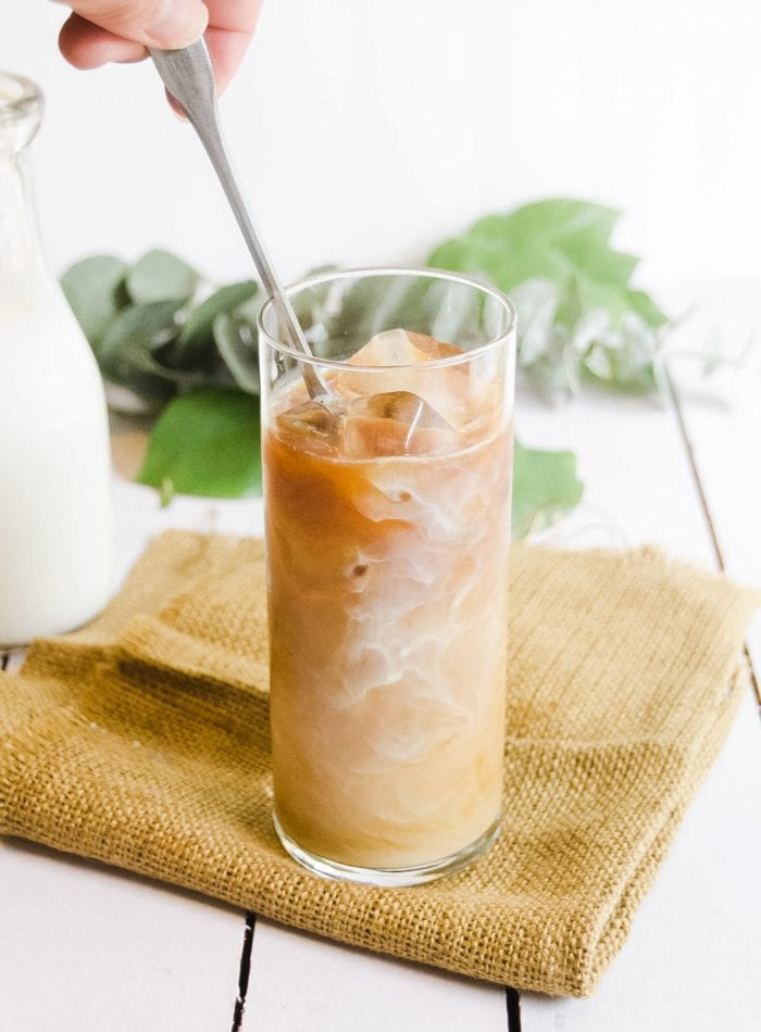 Easy iced coffee at home with Chameleon Cold-Brew Concentrate