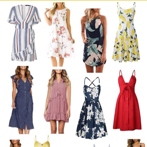 25 Summer Dresses on Amazon Under $25 + Amazon Gift Card Giveaway