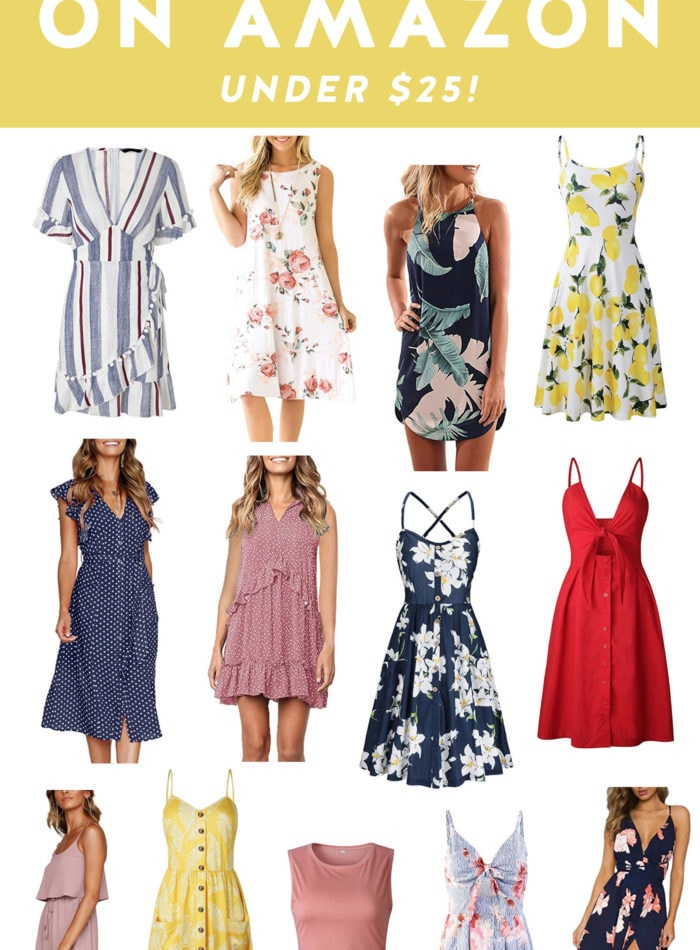 25 Summer Dresses on Amazon Under $25
