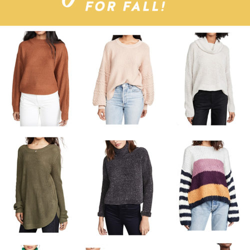 10 Must Have Cozy Sweaters For Fall