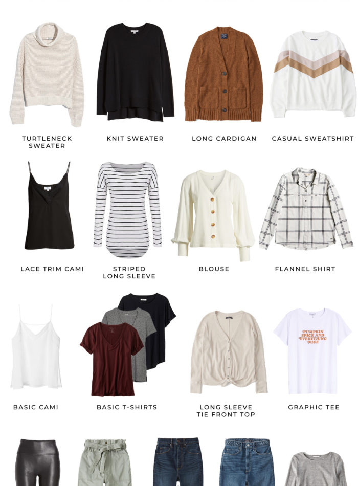 Casual Chic Fall Capsule Wardrobe